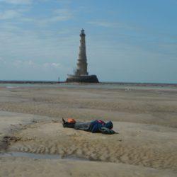 sieste devant le phare cordouan