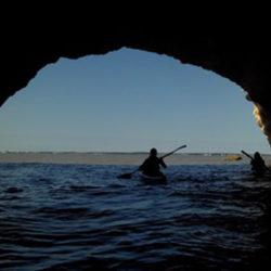 grotte kayak sortie balade saint-georges meschers charente-maritime