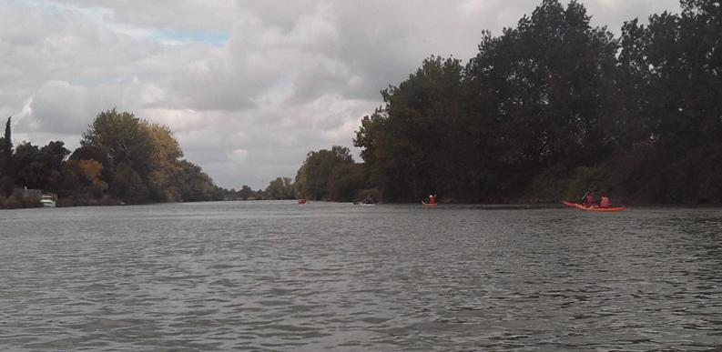 kayak; taillebourg; charente; charente maritime