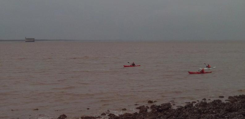 kayak; boyard; aix