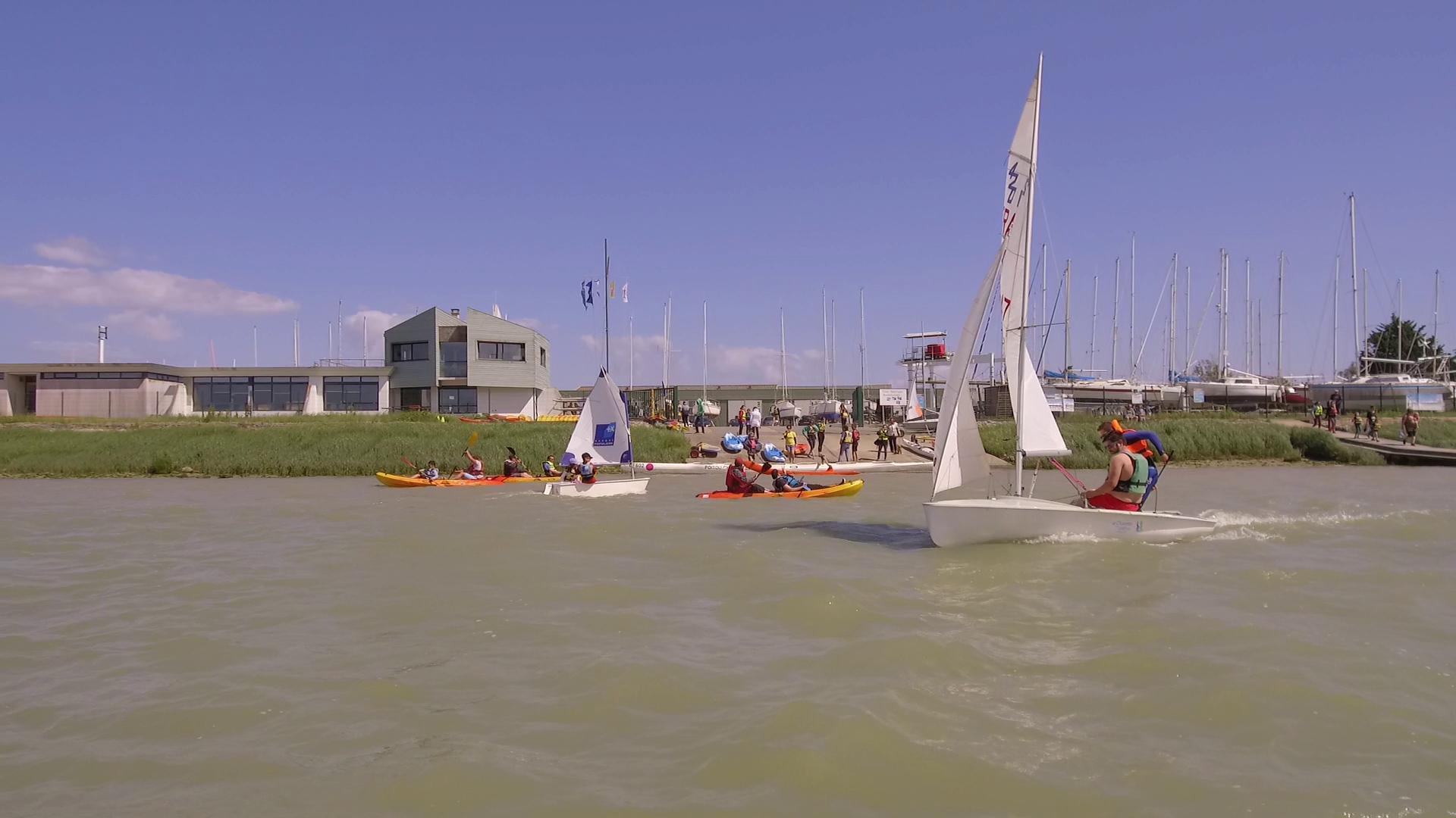 La vidéo de notre journée Faites du nautisme à Rochefort
