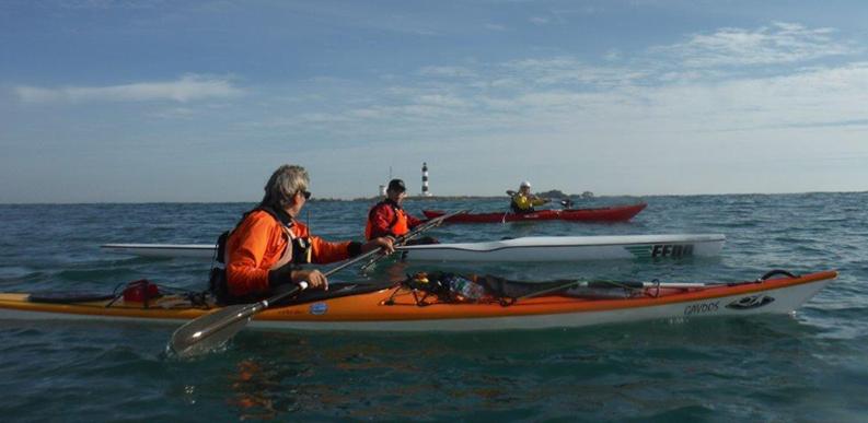 chassiron cnr kayak club nautique rochefortais voile pagaie